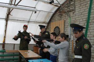 В рамках месячника оборонно-массовой и спортивной работы в Лебяжьевском районе состоялся II слет юнармейцев